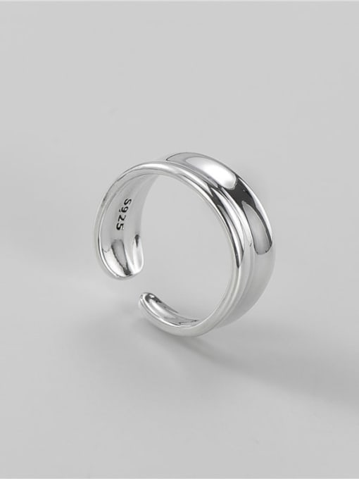ARTTI 925 Sterling Silver Irregular Vintage Band Ring