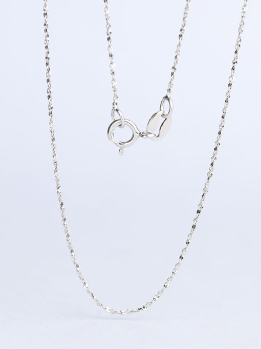 Supply 925 Sterling Silver Lengthen Twisted Serpentine Chain 2