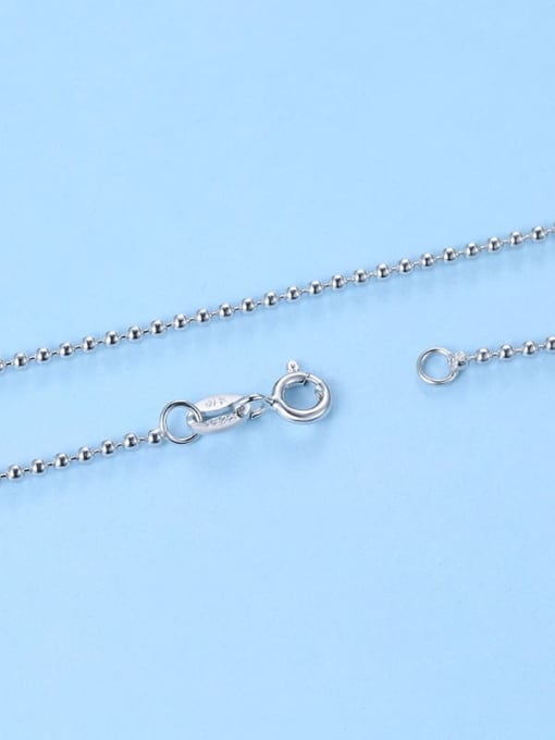 Supply 925 Sterling Silver Bead Chain 2