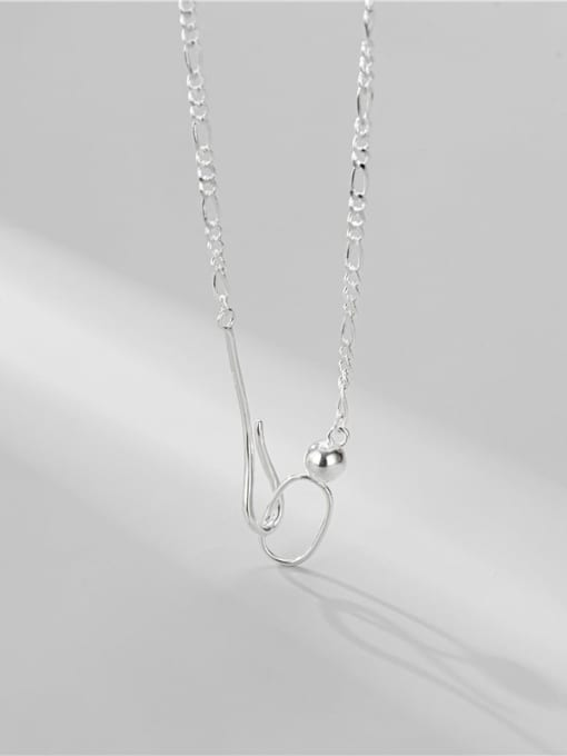 ARTTI 925 Sterling Silver Geometric Minimalist Necklace 3