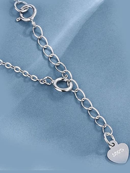 Supply 925 Sterling Silver Width: 5 cm Water Drop Claps : 5mm Chain Extender 3