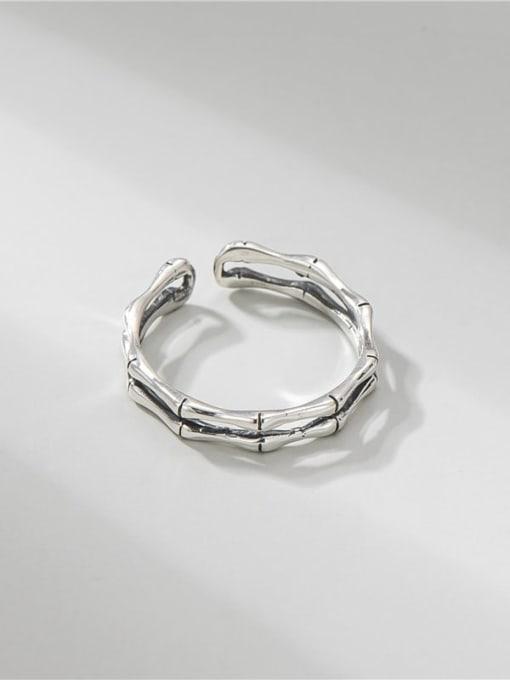 ARTTI 925 Sterling Silver Irregular Vintage Stackable Ring 2