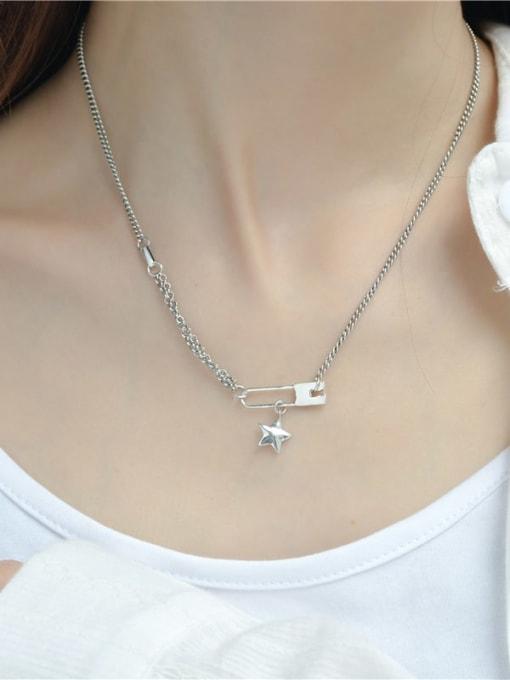 ARTTI 925 Sterling Silver Geometric Vintage Necklace 1