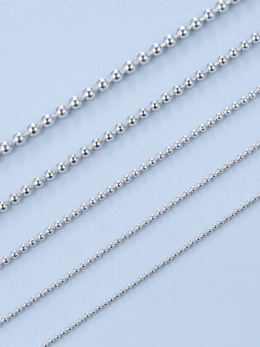 Supply 925 Sterling Silver Bead Chain 1