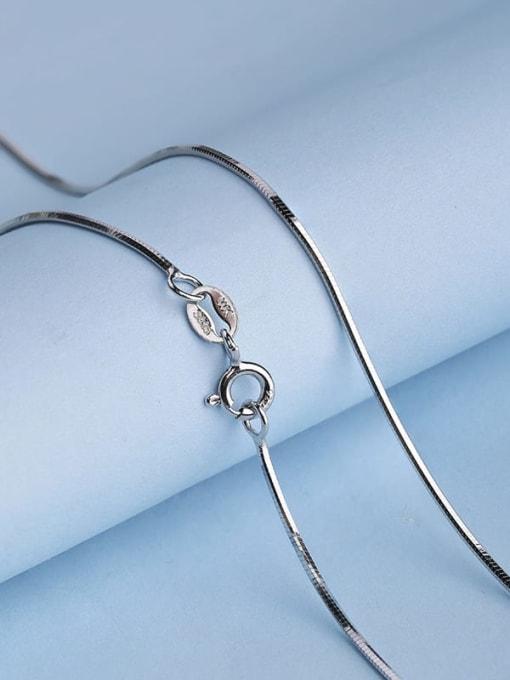 Supply 925 Sterling Silver Lengthen Snake Chain