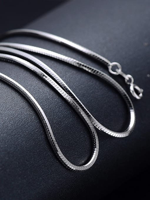 Supply 925 Sterling Silver Snake Chain For Men