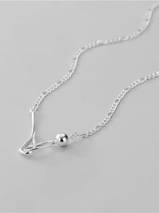 ARTTI 925 Sterling Silver Geometric Minimalist Necklace 2