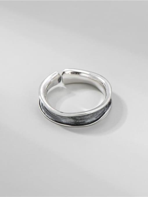 ARTTI 925 Sterling Silver Irregular Vintage Band Ring 2