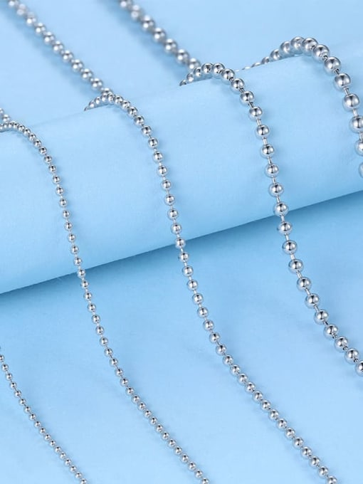 Supply 925 Sterling Silver Bead Chain