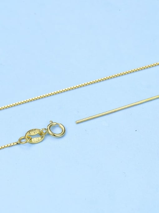 Supply 925 Sterling Silver Box Chain With Needle 2
