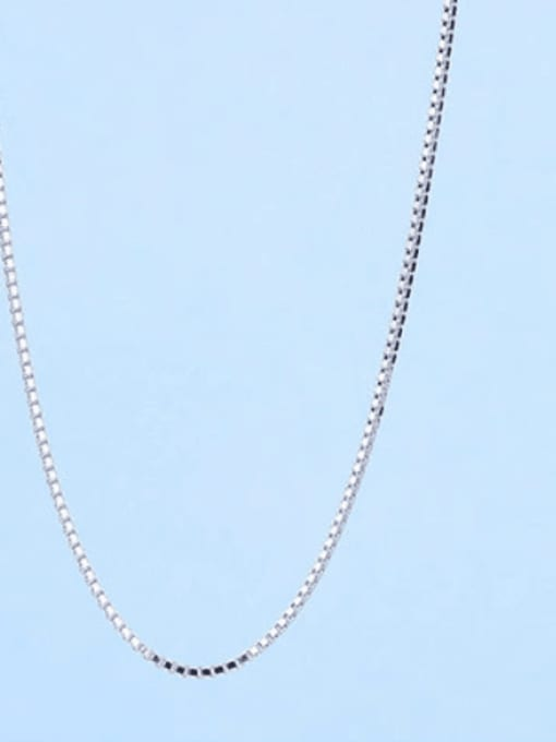 0.7mm#box#45cm 925 Sterling Silver Chains