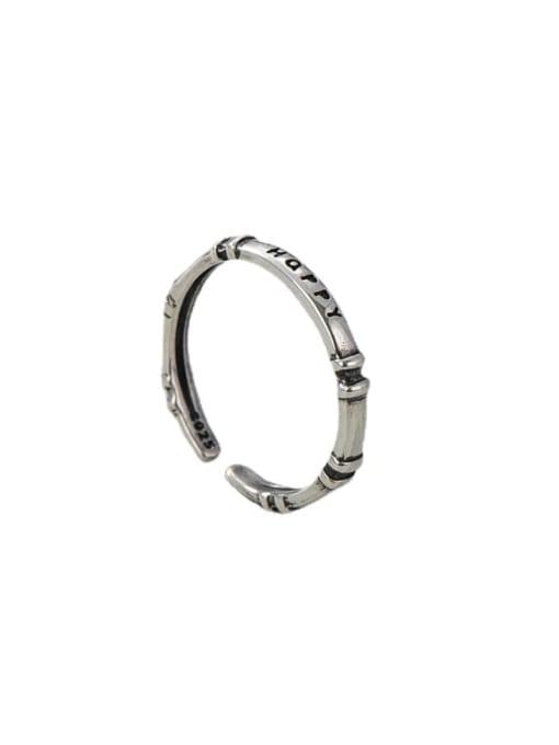 ARTTI 925 Sterling Silver Twist  Round Minimalist Band Ring 4