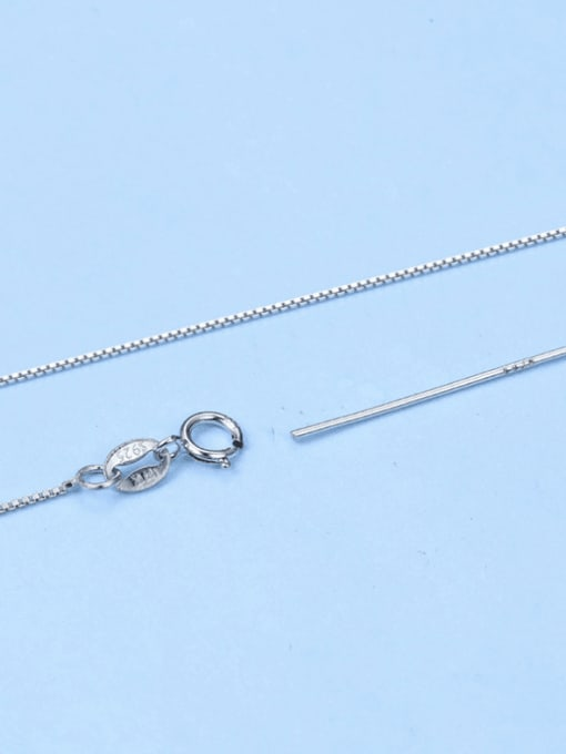 Supply 925 Sterling Silver Box Chain With Needle