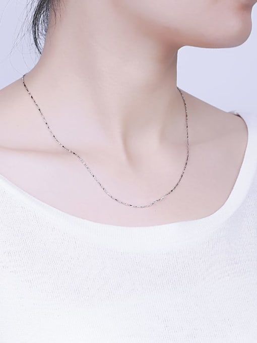 Supply 925 Sterling Silver Ingot Chain 4