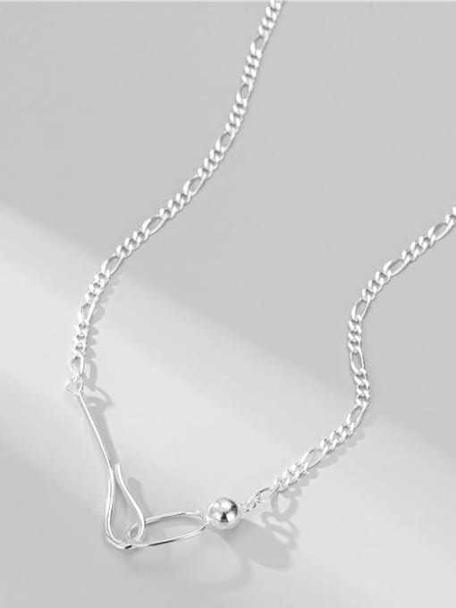 ARTTI 925 Sterling Silver Geometric Minimalist Necklace