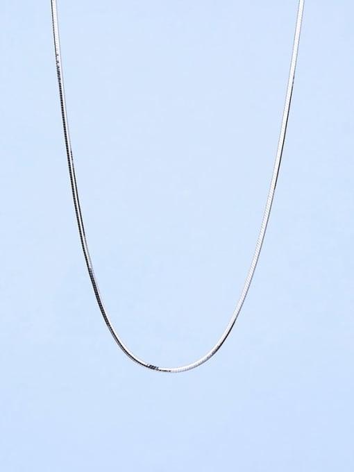Supply 925 Sterling Silver Lengthen Snake Chain 3