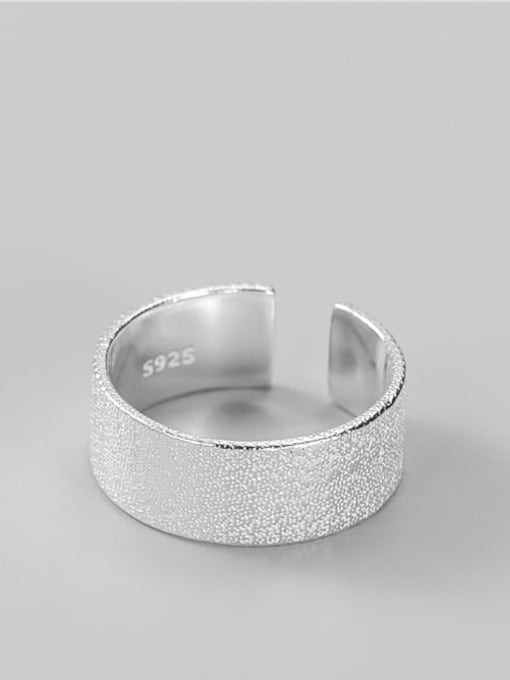 Sparkling ring 925 Sterling Silver Geometric Minimalist Band Ring