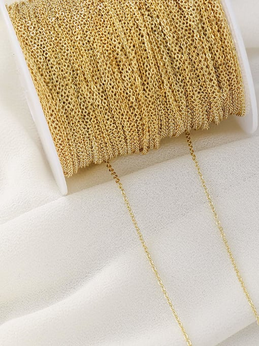 Supply Copper 14K Gold Filled Bulk cable Chain by Meter 0