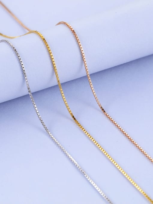 Supply 925 Sterling Silver Box Chain