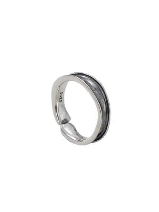 ARTTI 925 Sterling Silver Irregular Vintage Band Ring 3