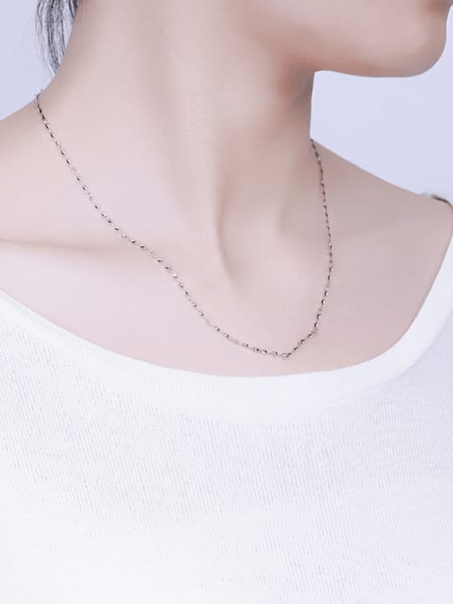 Supply 925 Sterling Silver Twisted Chain 4