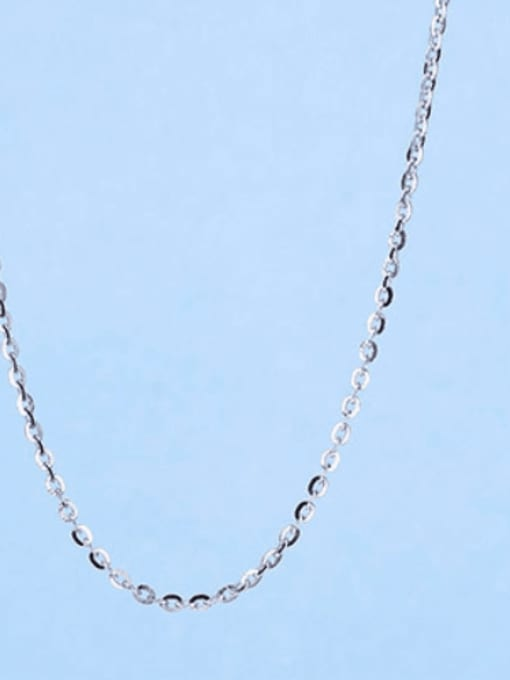 1.3mm#Blink Cable#45cm 925 Sterling Silver Chains