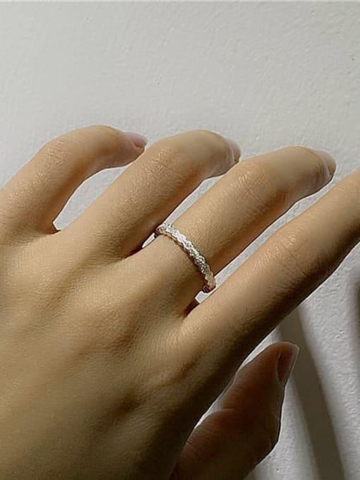 ARTTI 925 Sterling Silver Round Minimalist Band Ring 1