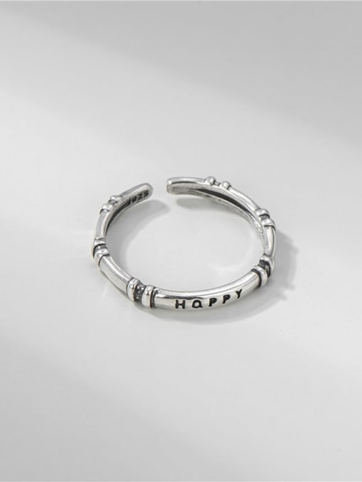 ARTTI 925 Sterling Silver Twist  Round Minimalist Band Ring 3
