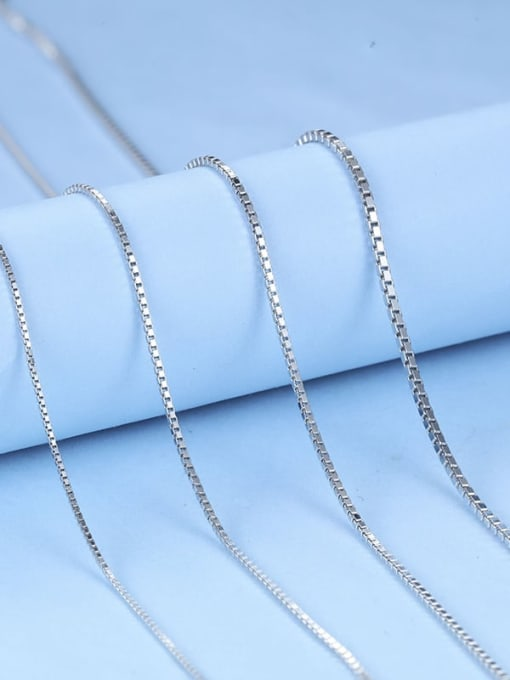 Supply 925 Sterling Silver Box Chain 1