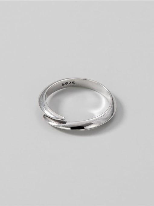 ARTTI 925 Sterling Silver Irregular Vintage Band Ring 1