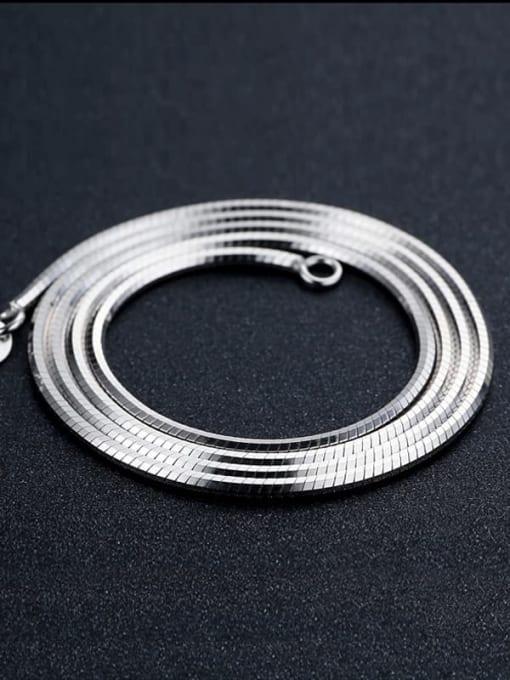 Supply 925 Sterling Silver Snake Chain For Men 1