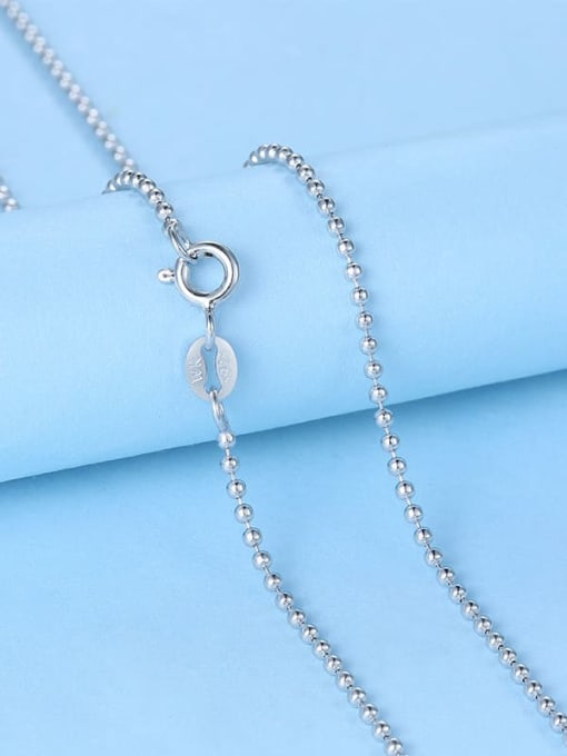 Supply 925 Sterling Silver Bead Chain 3
