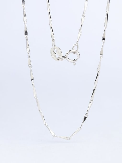Supply 925 Sterling Silver Lengthen Melon Seed Chain 3