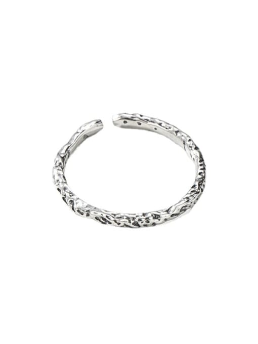 ARTTI 925 Sterling Silver Round Vintage Band Ring 2