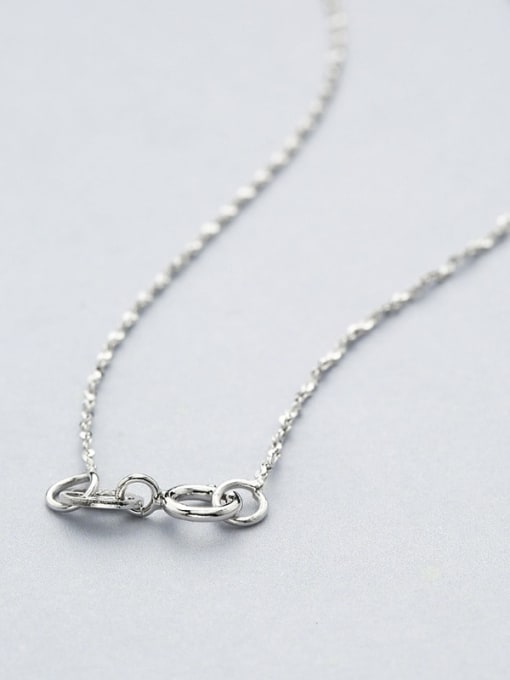 Supply 925 Sterling Silver Lengthen Twisted Serpentine Chain 3