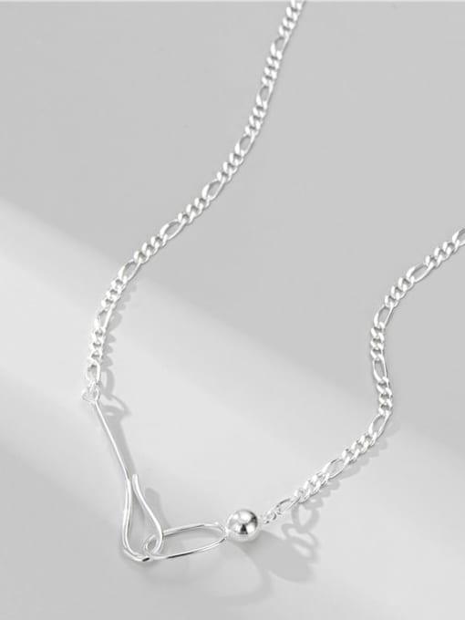 Ferrari Necklace 925 Sterling Silver Geometric Minimalist Necklace
