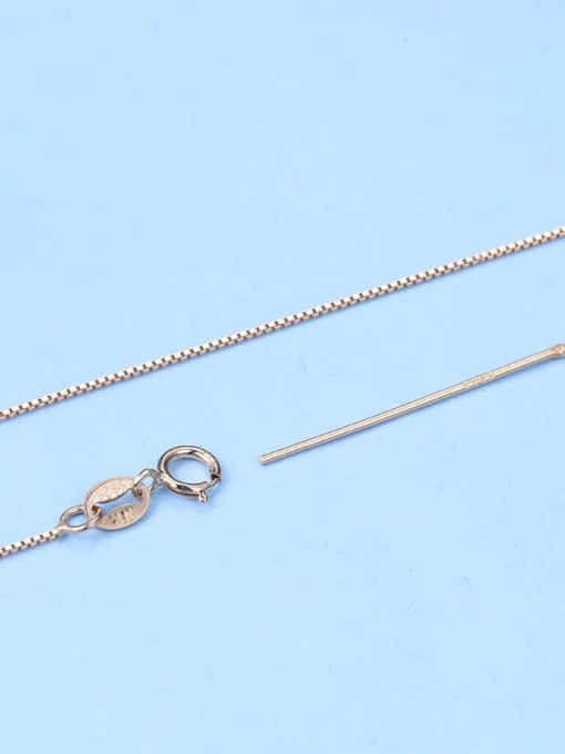 Supply 925 Sterling Silver Box Chain With Needle 3