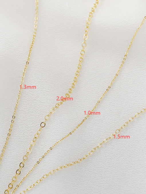Supply Copper 14K Gold Filled Bulk cable Chain by Meter 1