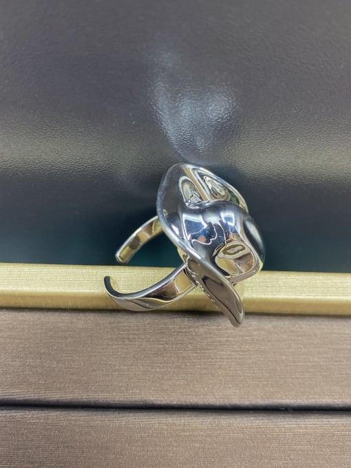 LM Copper Alloy Hip Hop Men Ring Cowboy Ring 4