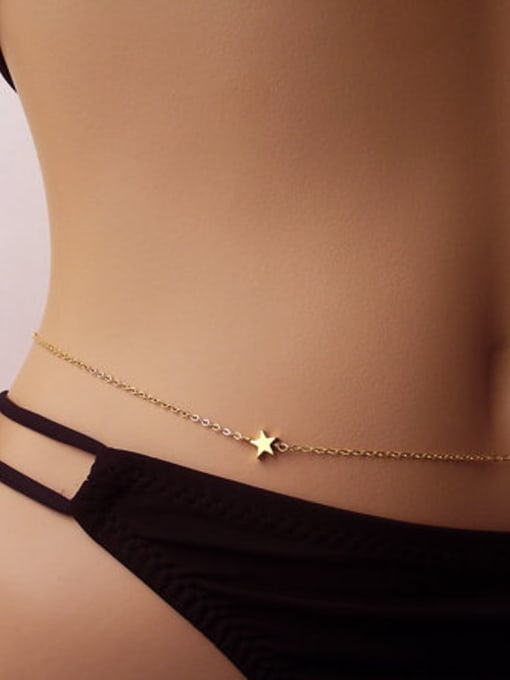 LM Alloy Star Body Belt Waist chain 1