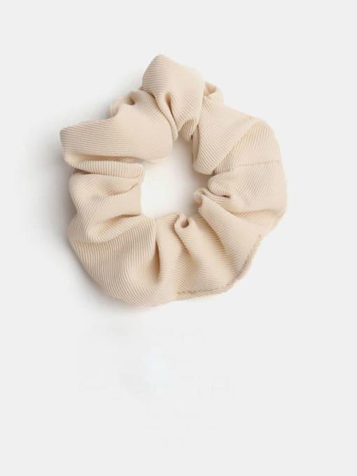 Off white Minimalist  Fabric Hair Barrette