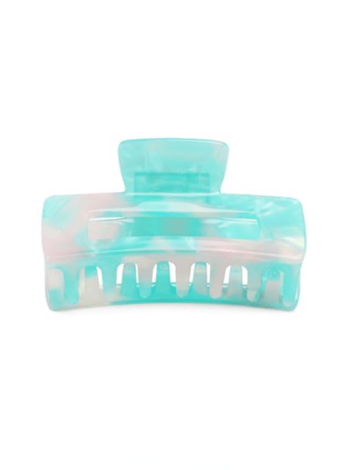 Magic MINT Cellulose Acetate Minimalist Geometric Multi Color Jaw Hair Claw