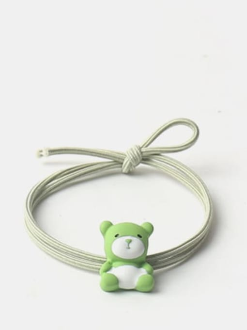 Green 1 Cute Icon Hair Rope