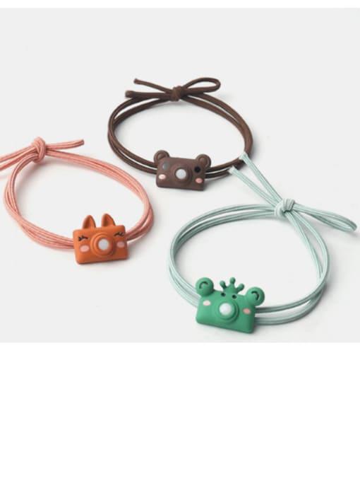 JoChic Cute cartoon animal hair rope 0