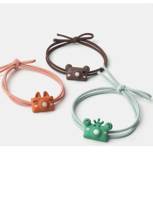 JoChic Cute cartoon animal hair rope