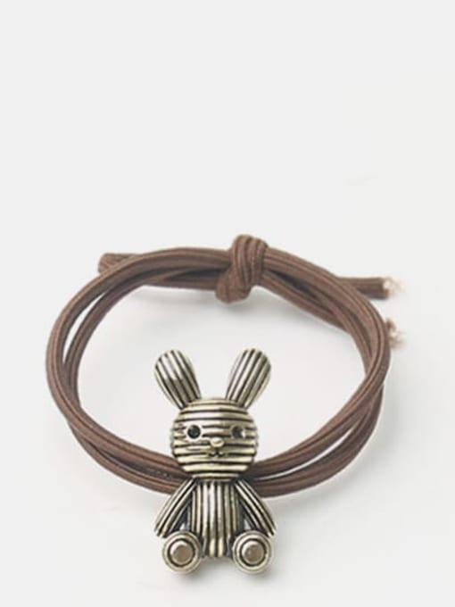 rabbit Alloy Little Bear Hair Rope