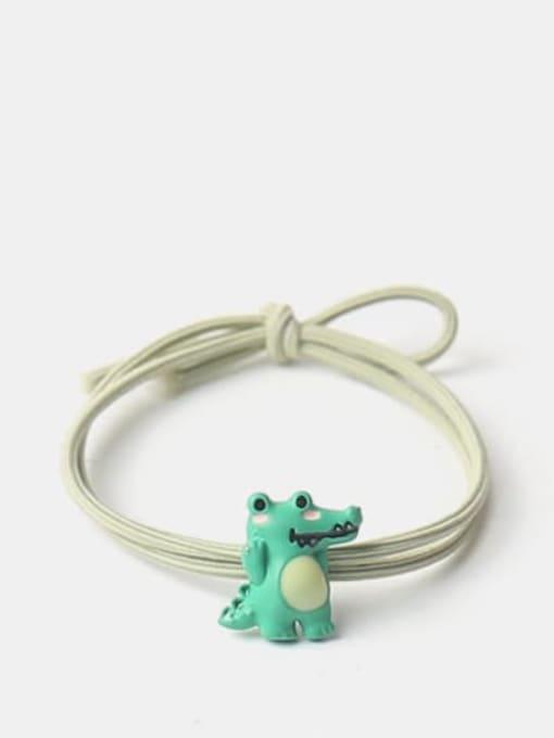 Crocodile hair rope Alloy Cute Crocodile Hair Rope