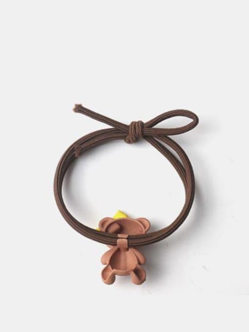 JoChic Alloy Cute Bowknot  Rhinestone Multi Color Hair Rope 2