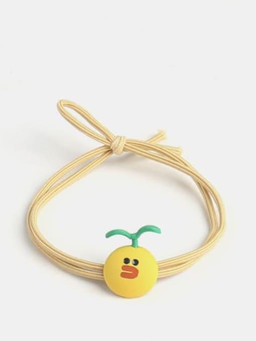 JoChic Cute Long Grass Radish Long Grass Pineapple Hair Rope 2
