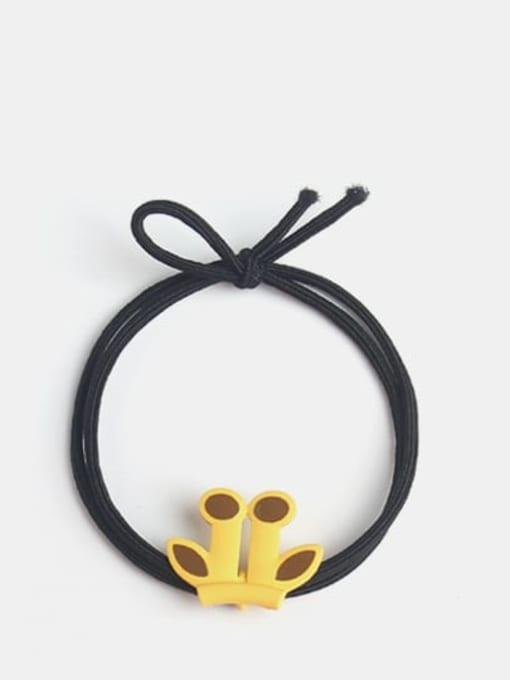 Antler black rope Cute Cartoon animal  Hair Rope